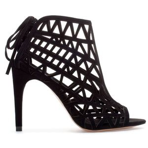 Zara Collection Caged Heels